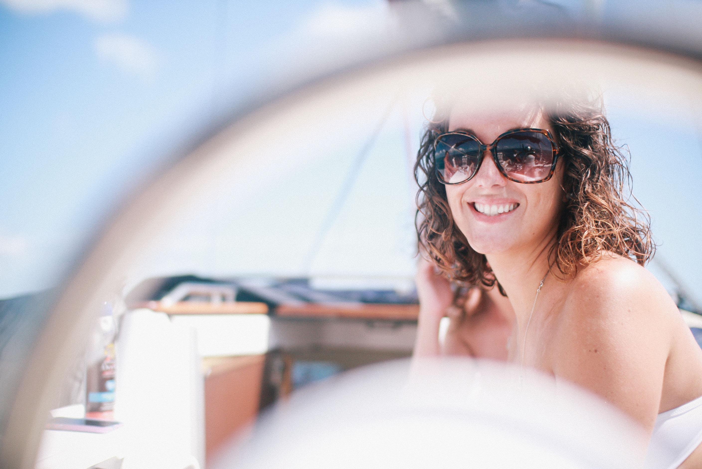 goodbye again u2013 katie and jessie on a boat