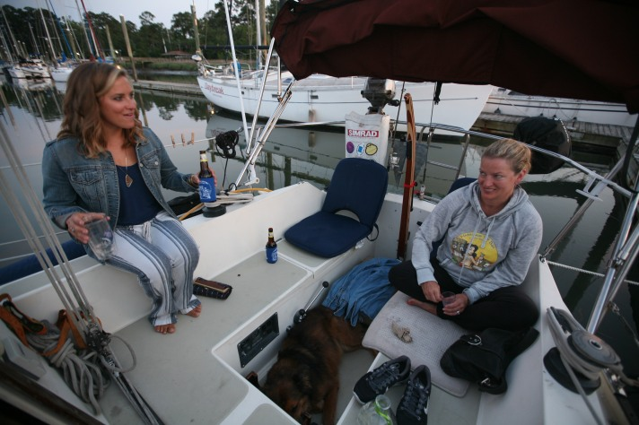 Jessie Zevalkink, Cindy Bonish, Sailing, Bonish Photography